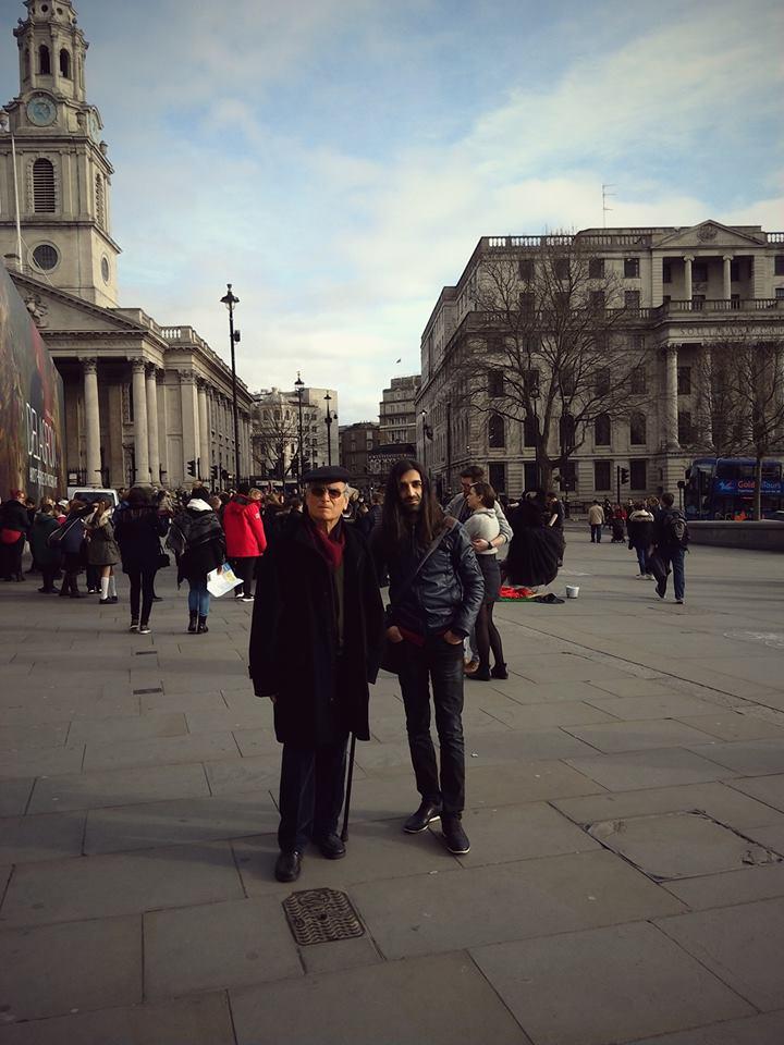 ստեղծել վայրը ուր ըլլալ. Գրիգոր և Քրիստիեան Լոնդոնում 2015