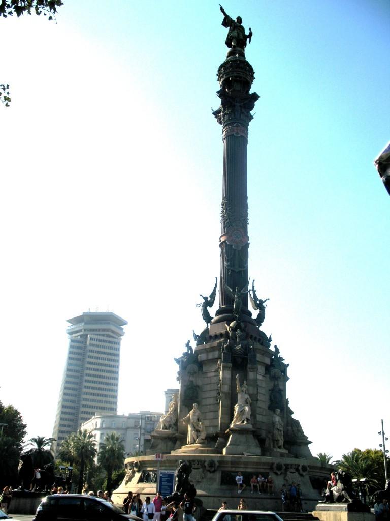 Կոլումբոսի հուշարձանը Մադրիդի կենտրոնում, լուս. wikipedia