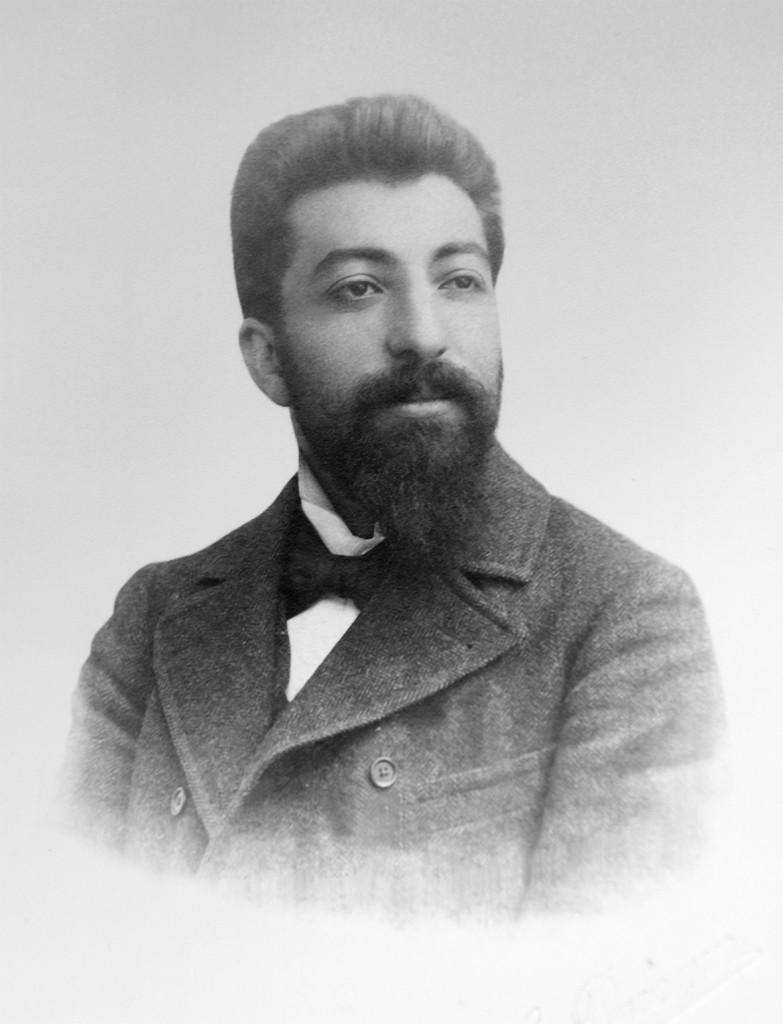 Ավետիք Իսահակյան, Ժնև, 1902 թ.