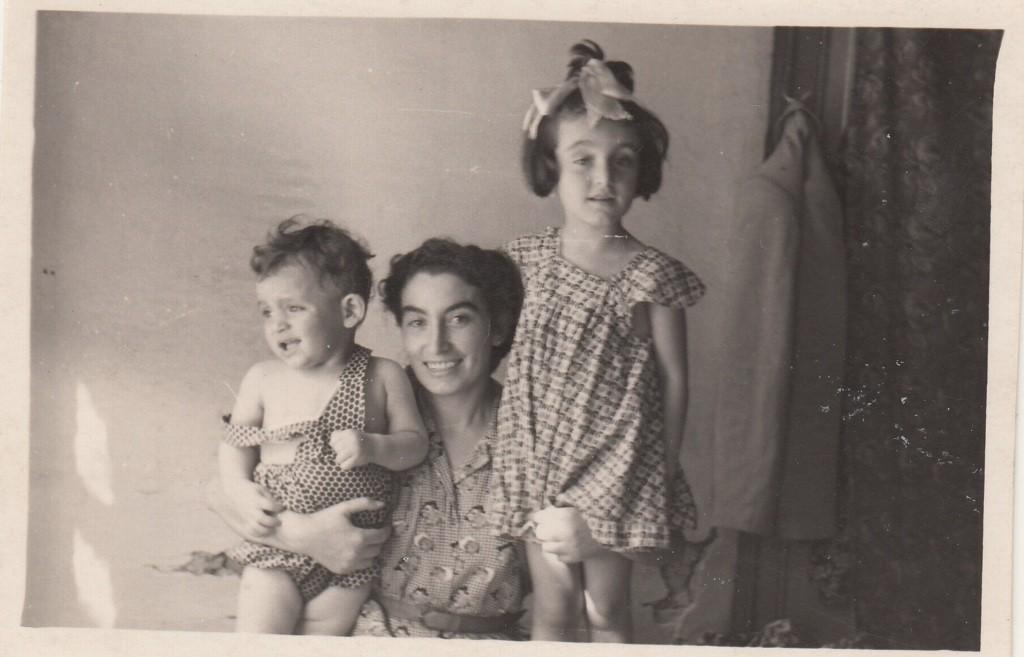 1957. Ավետիքի և Վարդանւյշի հետ