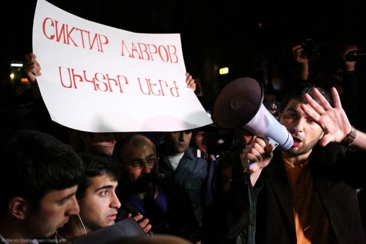 Ապրիլի 19-ի ցույցը ռուսական դեսպանատան դիմաց իշխանությունը թույլ է տալիս: