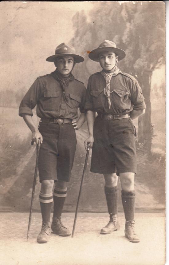 Ձախից Վահանի կնոջ եղբայրը՝ Վազգեն Անդրեասյան