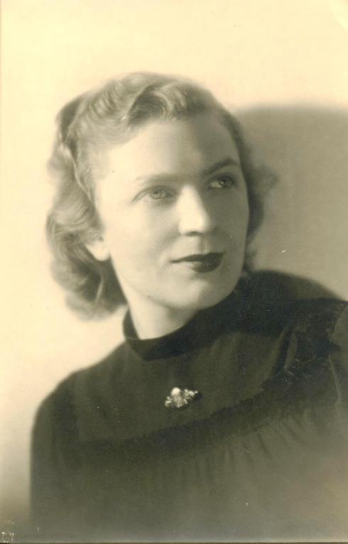 Որբունու կինը՝ Էլիզաբեթ (Լիլի) Որբունի, ԳԱԹ արխիվ